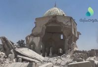 Video Shows Destroyed Al-Nuri Mosque After Its Recapture From ISIS In Mosul