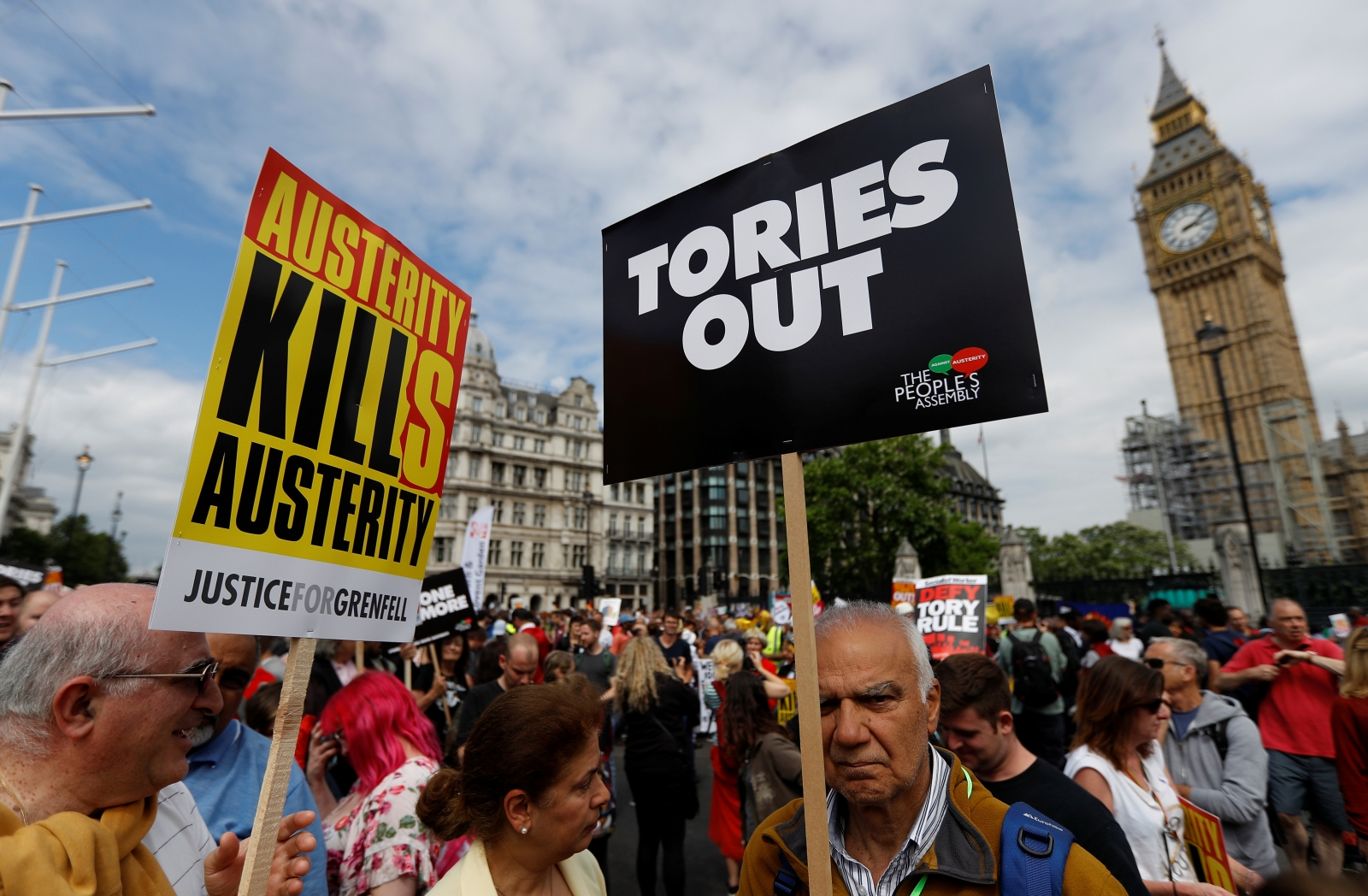 Not One Day More London Marches To Protest