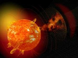 Sun sneezing solar storms