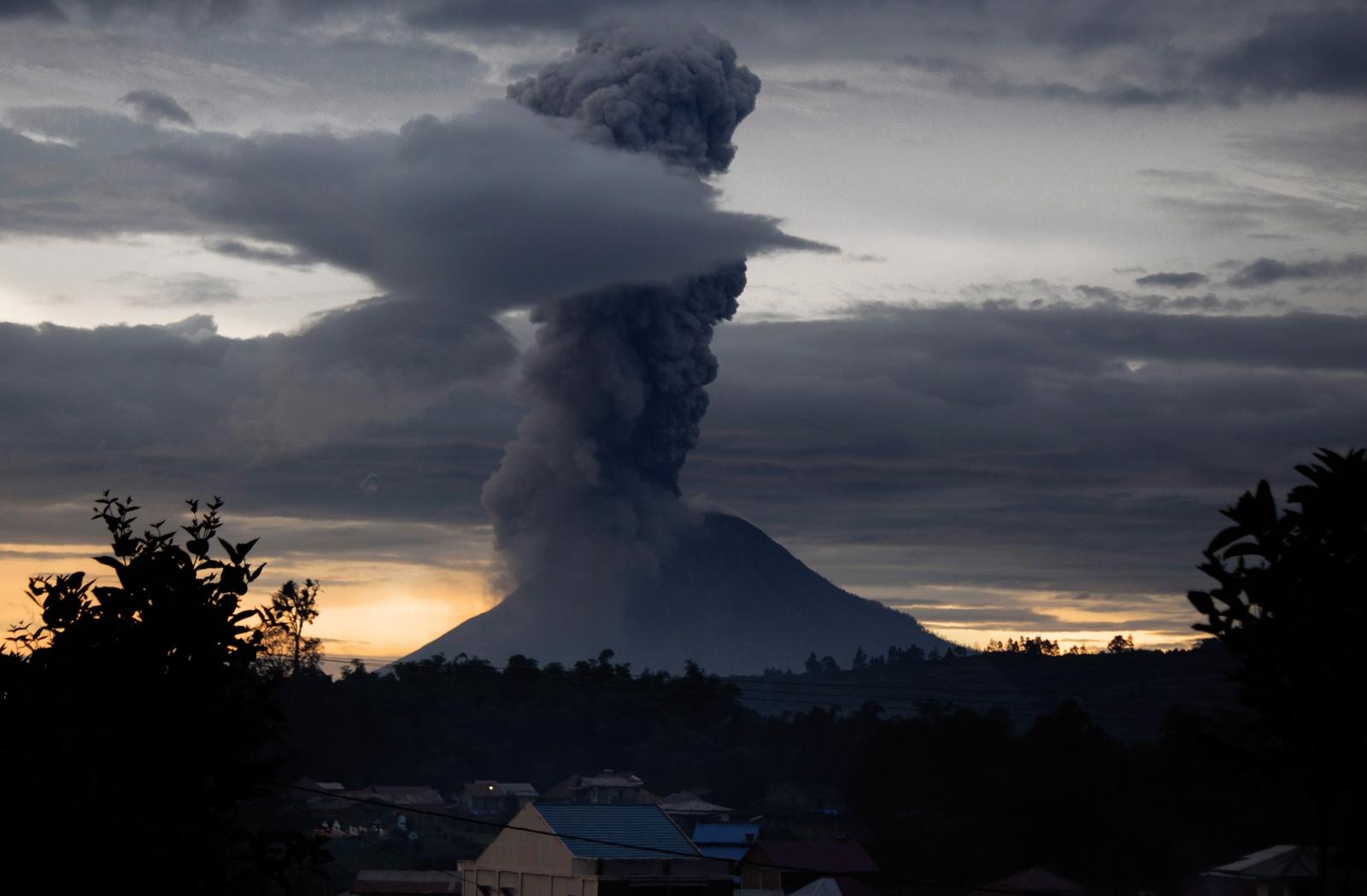 Indonesia volcanic eruption