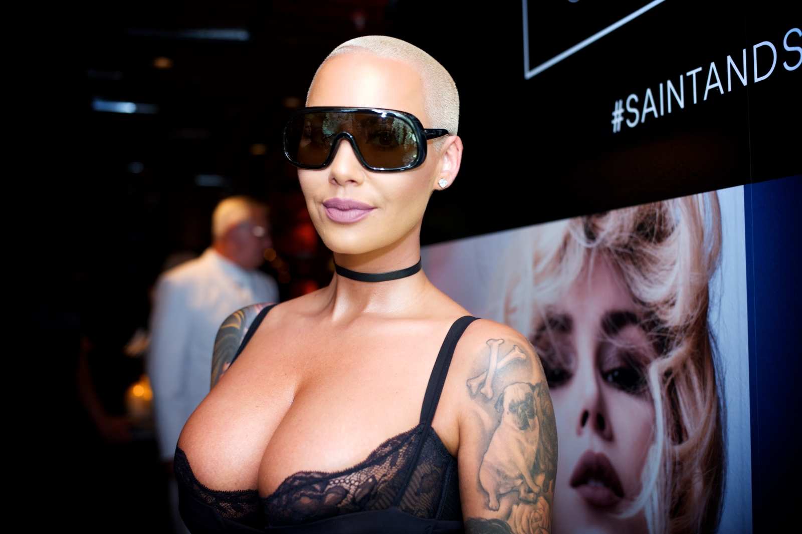 Amber Rose introduces 21 Savage to her son