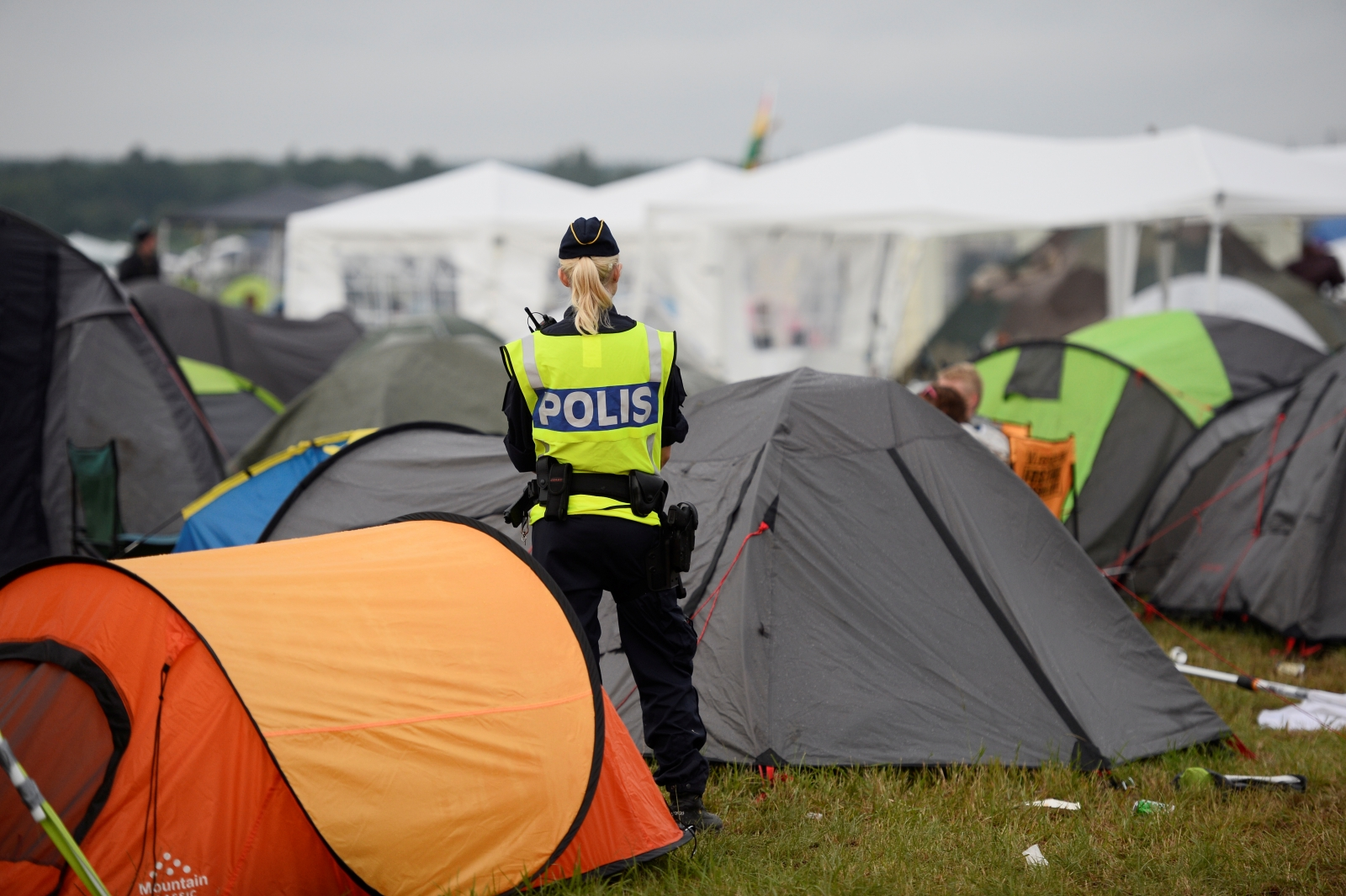 In Sweden some rapists attacked women during a music festival