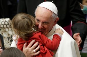 Pope Francis Bambino Gesu
