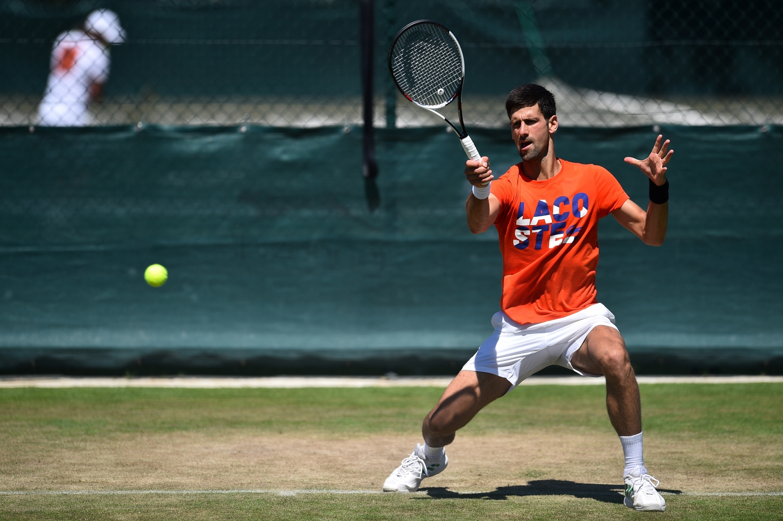 Novak Djokovic is coming to boil for Wimbledon