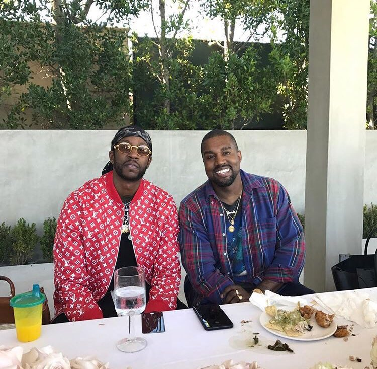 2 Chainz and Kanye West