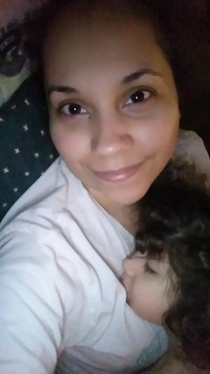 Enedina Vance and baby
