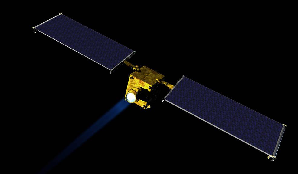NASA's DART spacecraft for deflecting asteroids