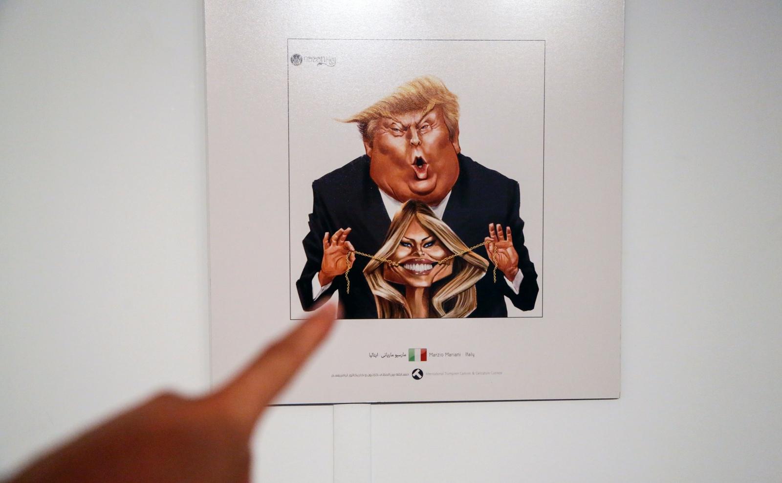 Iran cartoon contest and Trump
