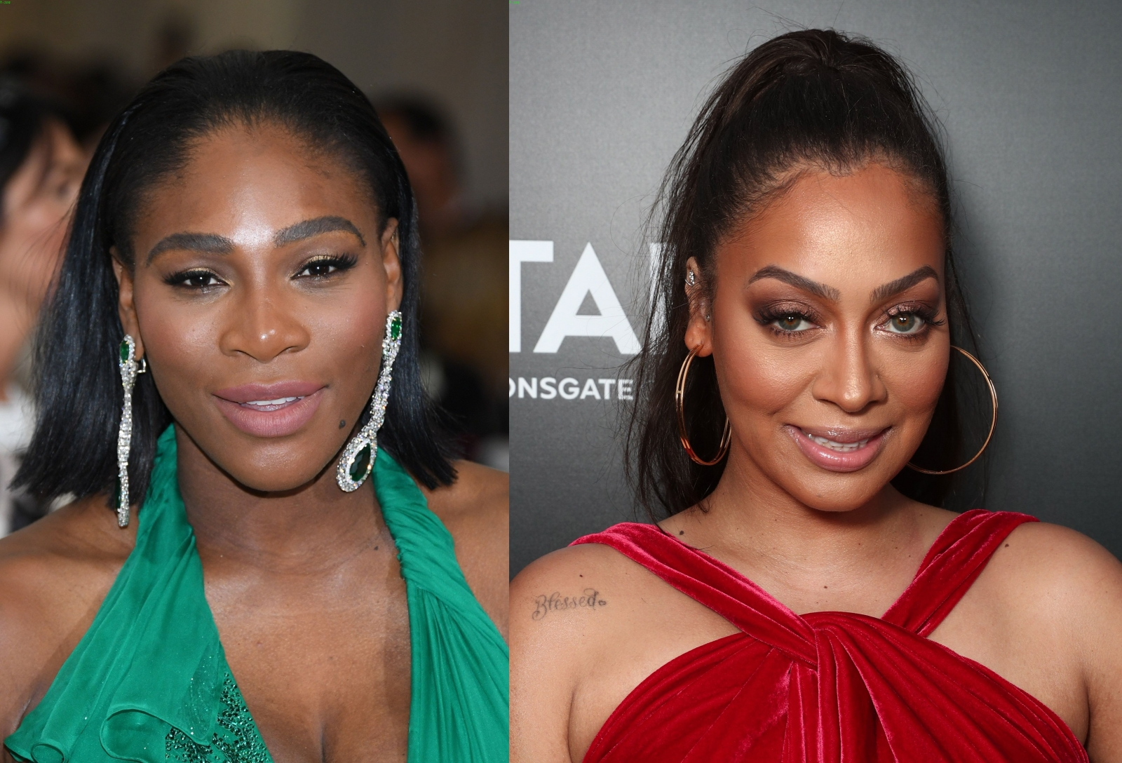 Serena Williams and La La Anthony