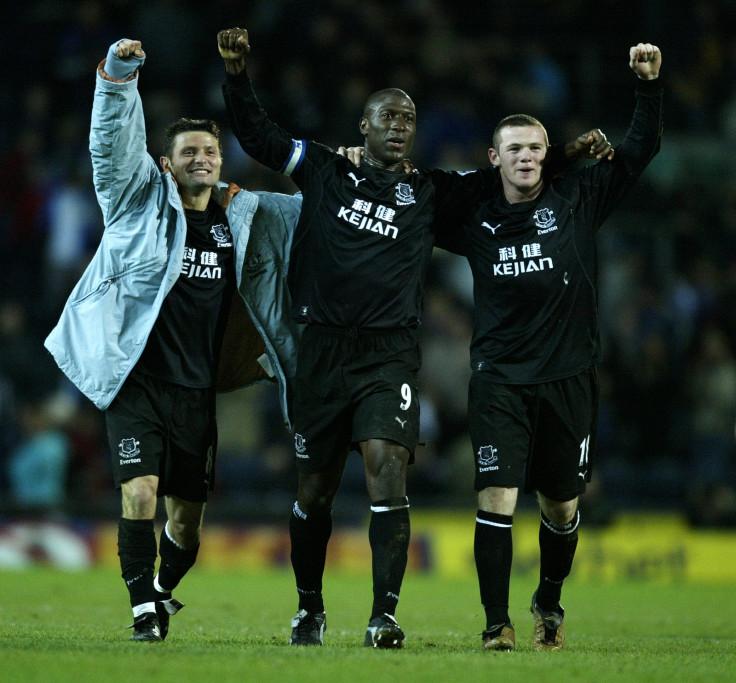 Tomasz Radzinski, Kevin Campbell, and Wayne Rooney