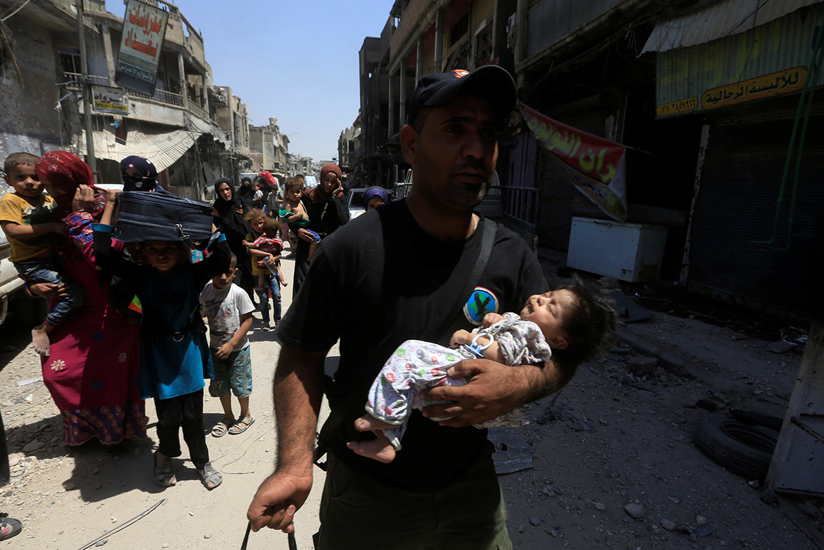 Mosul civilians