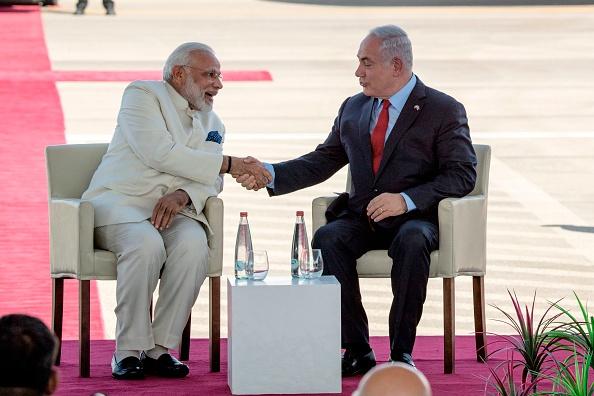 Narendra Modi and Benjamin Netanyahu