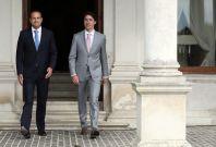 Leo Varadkar and Justin Trudeau