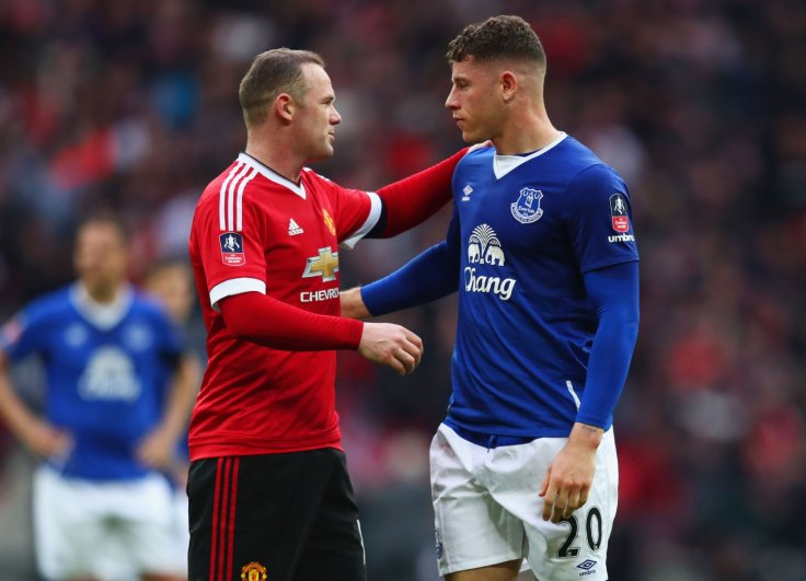 Wayne Rooney and Ross Barkley