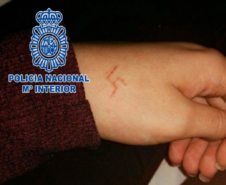swastika hand