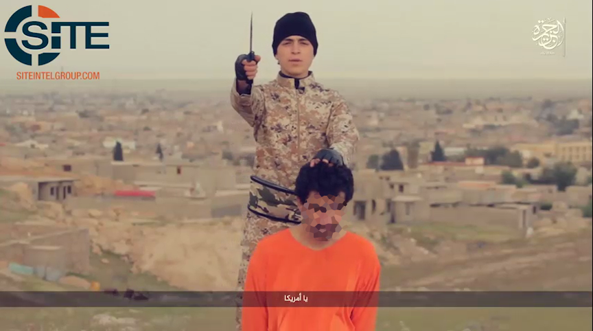 Isis Child Soldier Execution Iraq