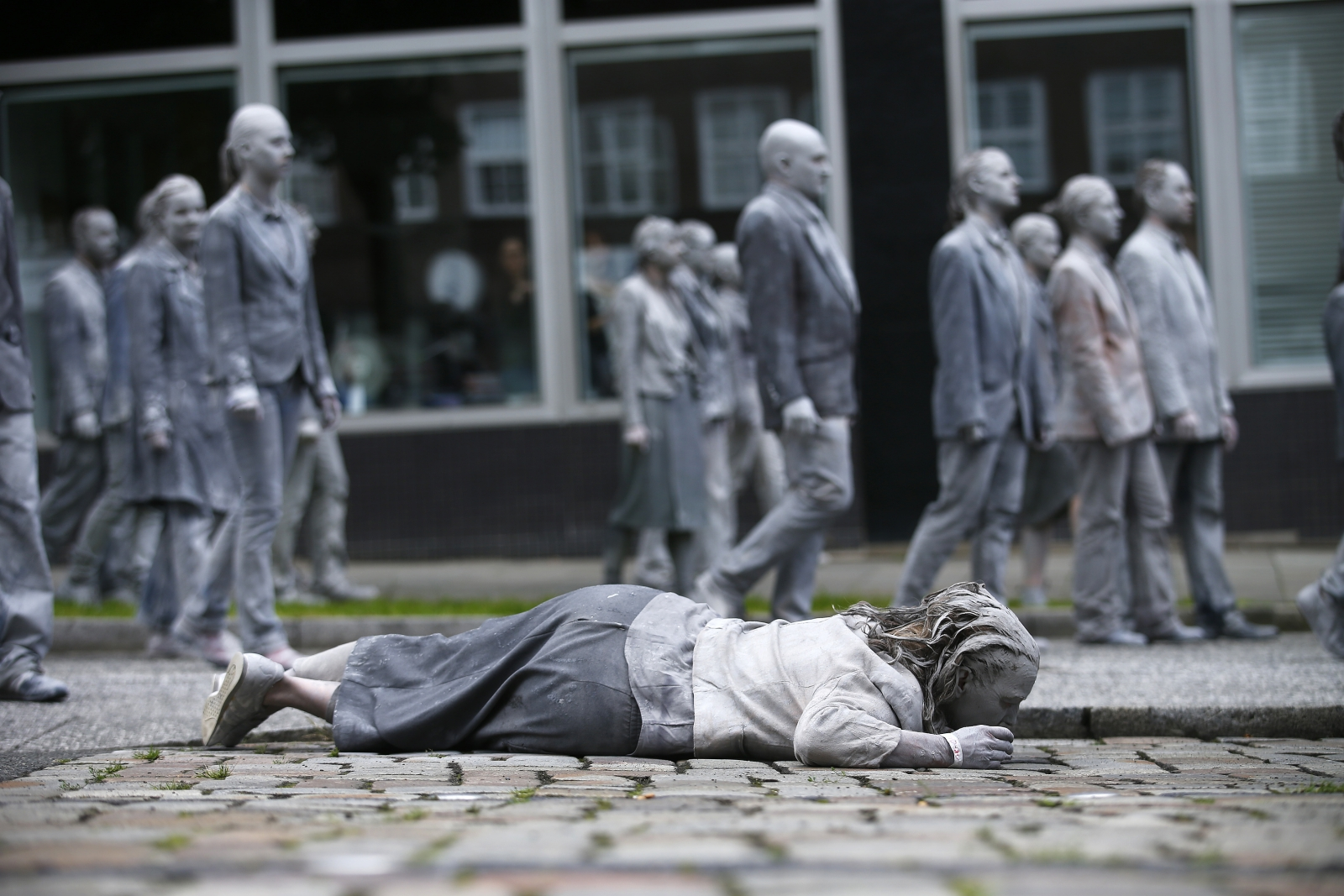 G20 zombies Hamburg