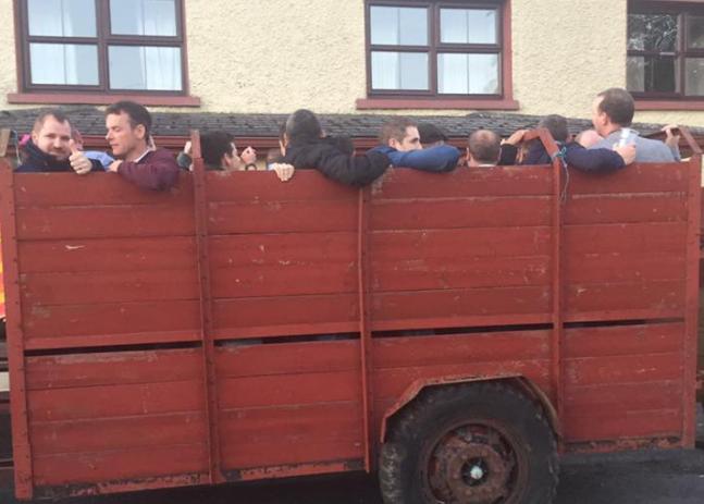 Irish stag tractor