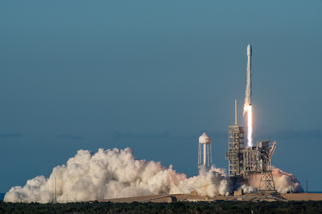 JUST IN: SpaceX aims for launch this evening