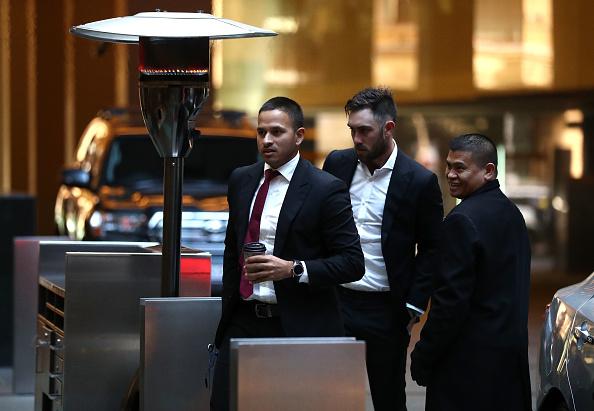 Usman Khawaja and Glenn Maxwell