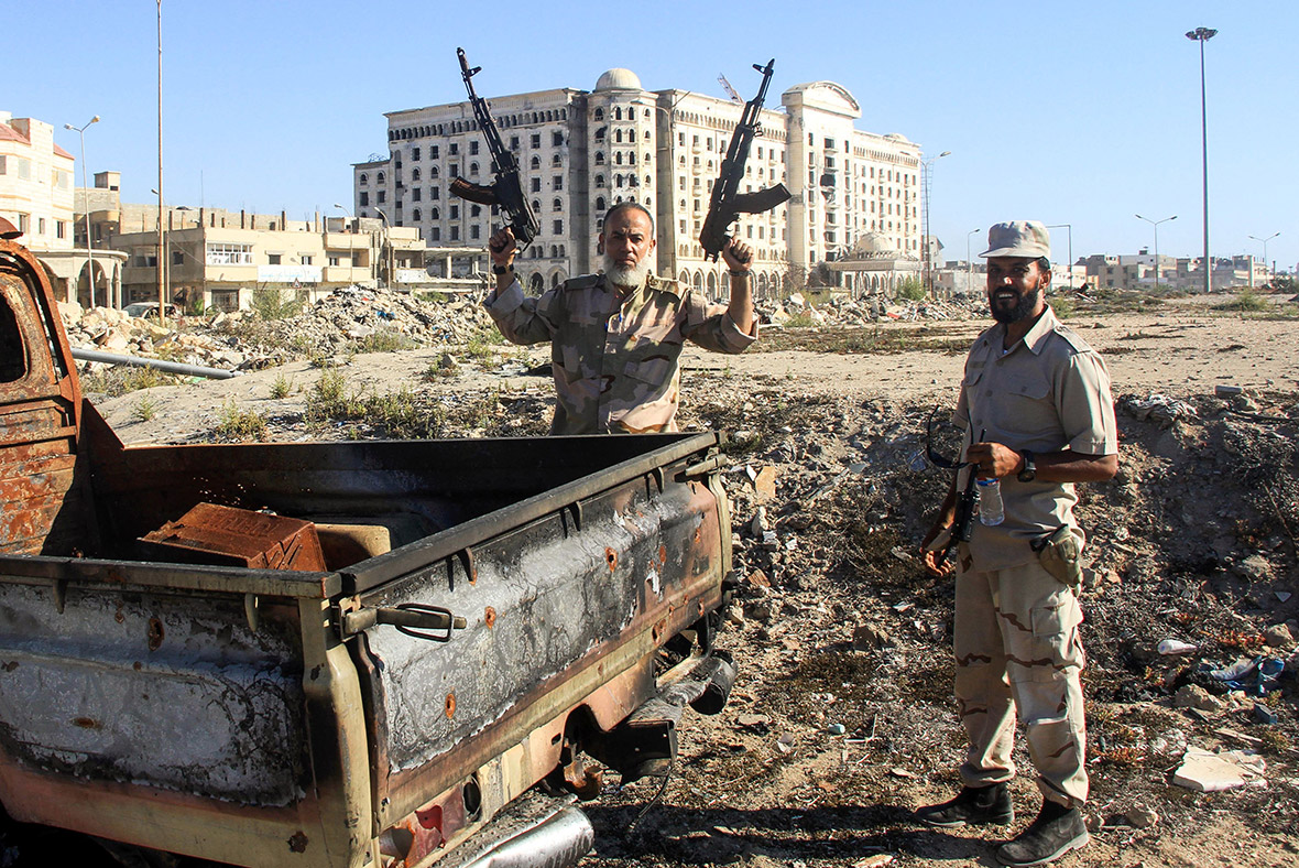 Benghazi Libya Khalifa Haftar