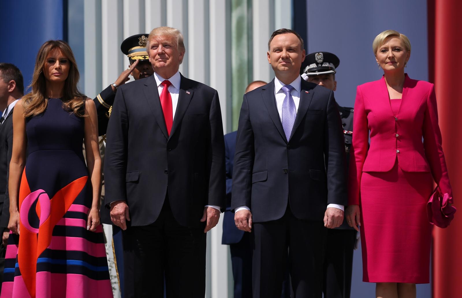 Trump Poland visit