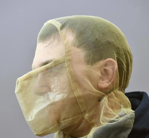 Police spit hoods