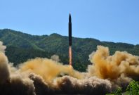 North Korea amissile