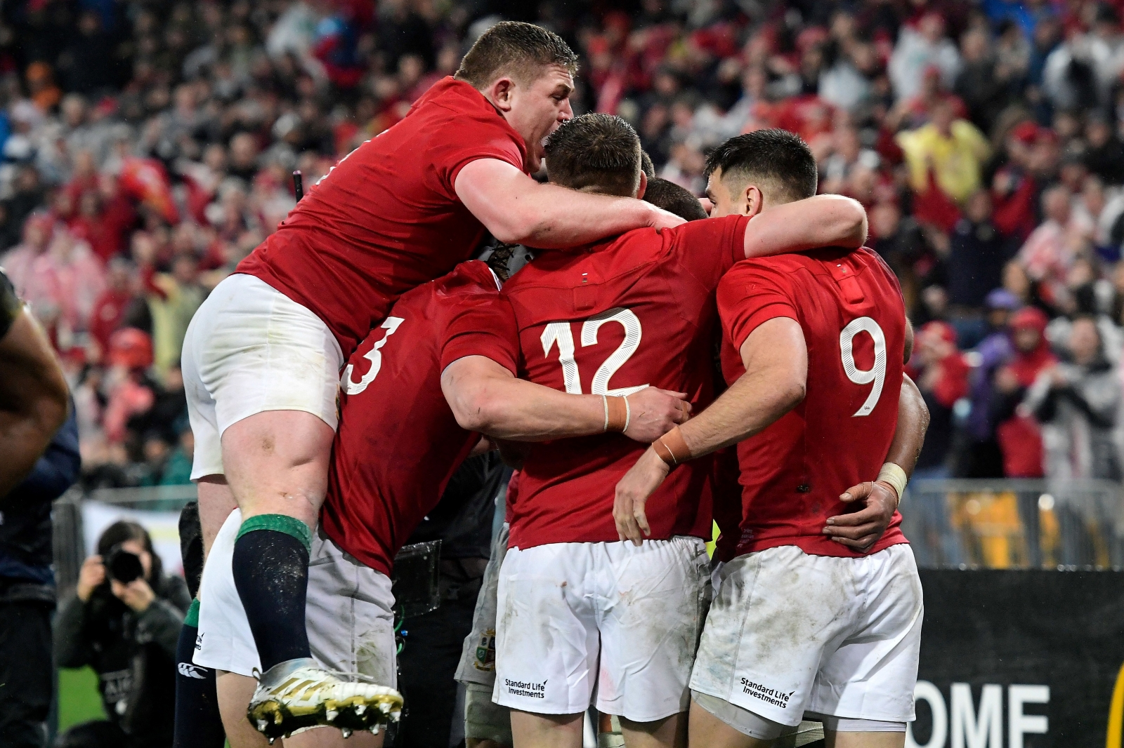 Same Lions line-up to start third Test against All Blacks