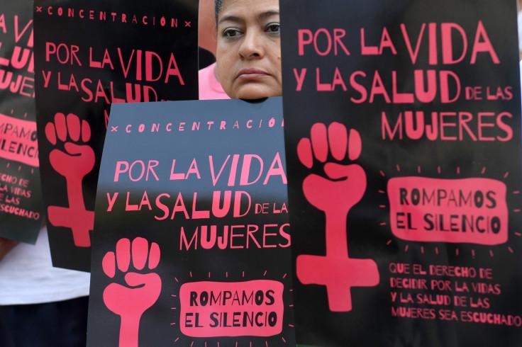 El Salvador abortion protest