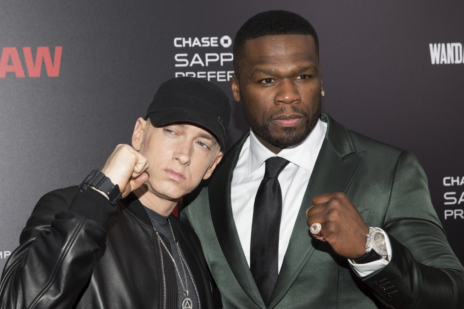 50 Cent and Eminem