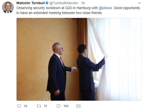Malcolm Turnbull Joko Widodo