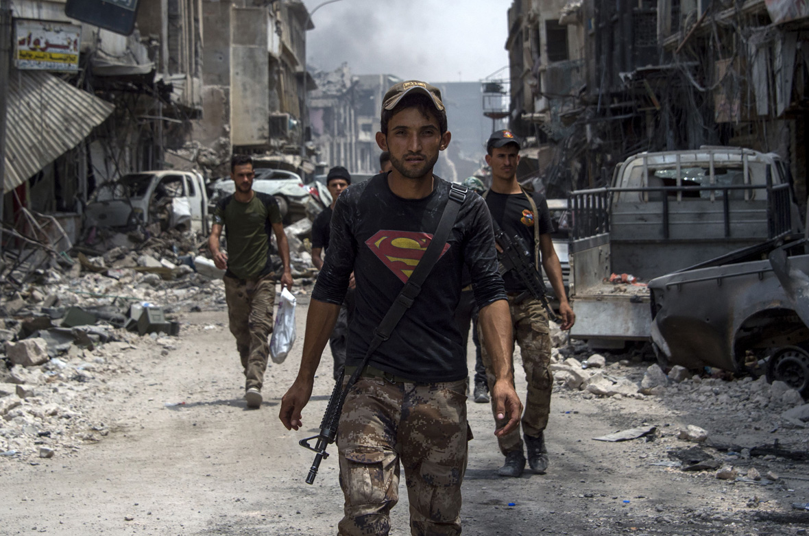 Mosul Superman T-shirt