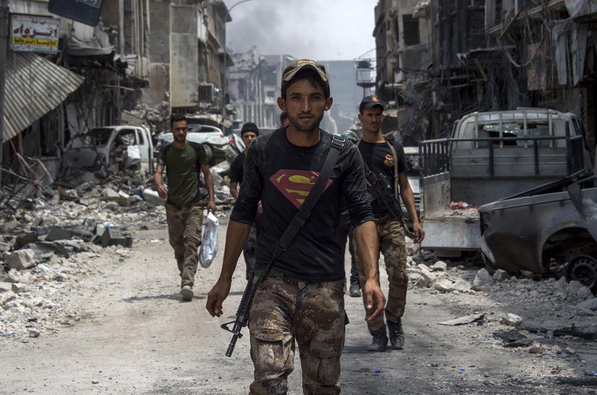 Mosul Superman T-shirt