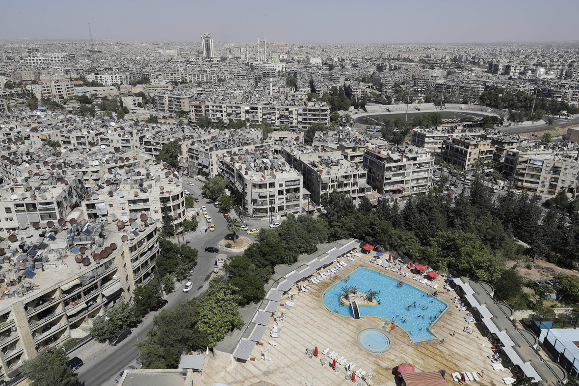 Aleppo swimming pool