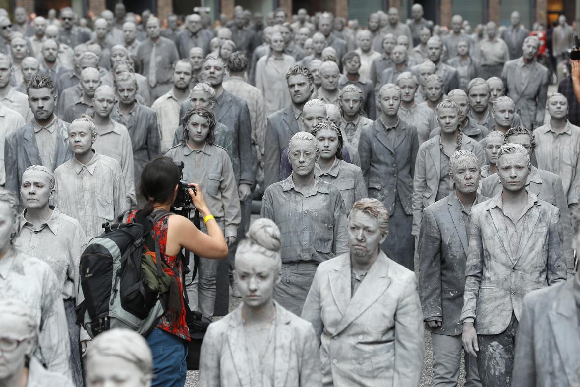 G20 Hamburg zombies