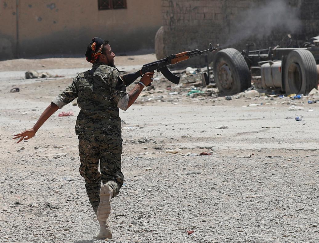 Raqqa, Syria YPG