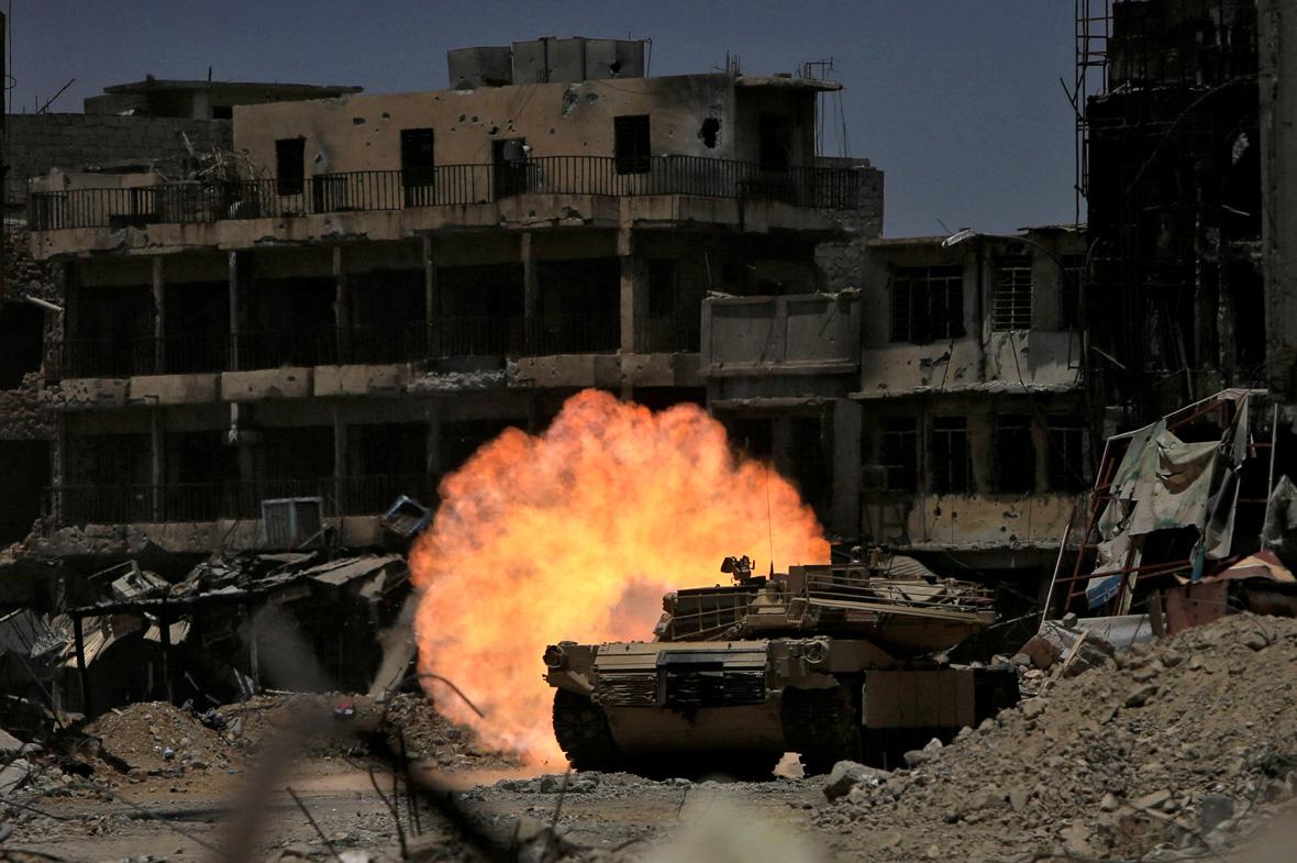 Mosul tank