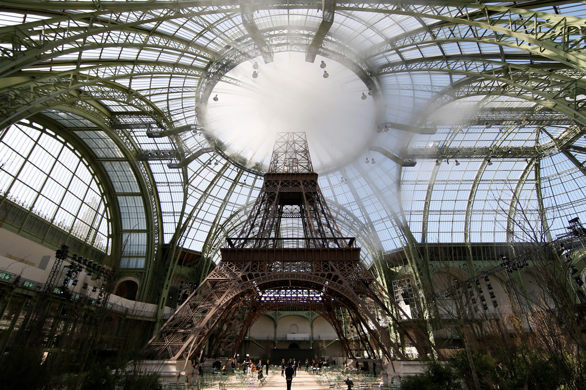 Chanel Eiffel Tower Grand palais