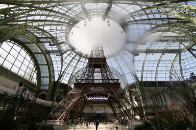 Chanel Eiffel Tower Grand palais
