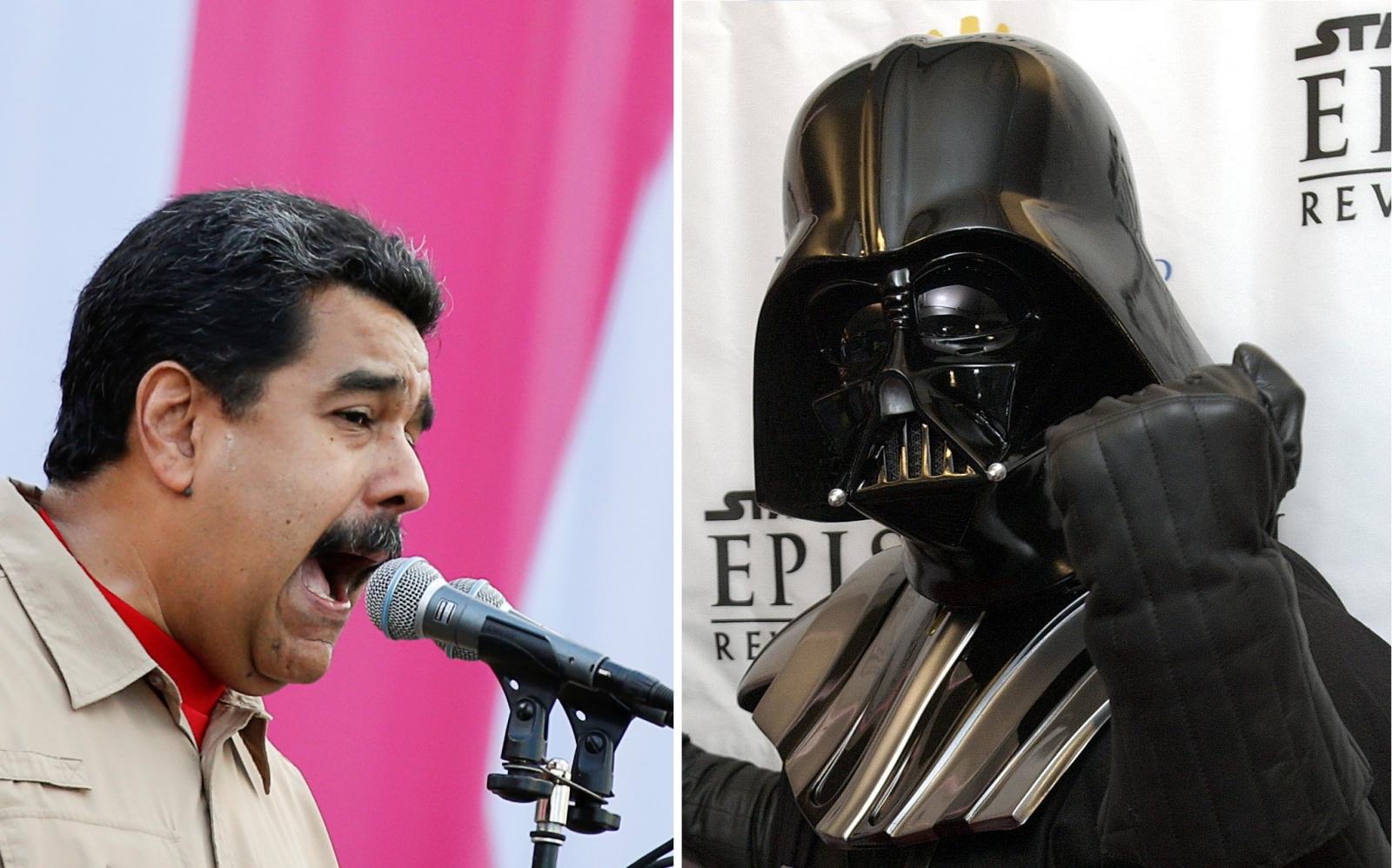Nicolas Maduro Darth Vader