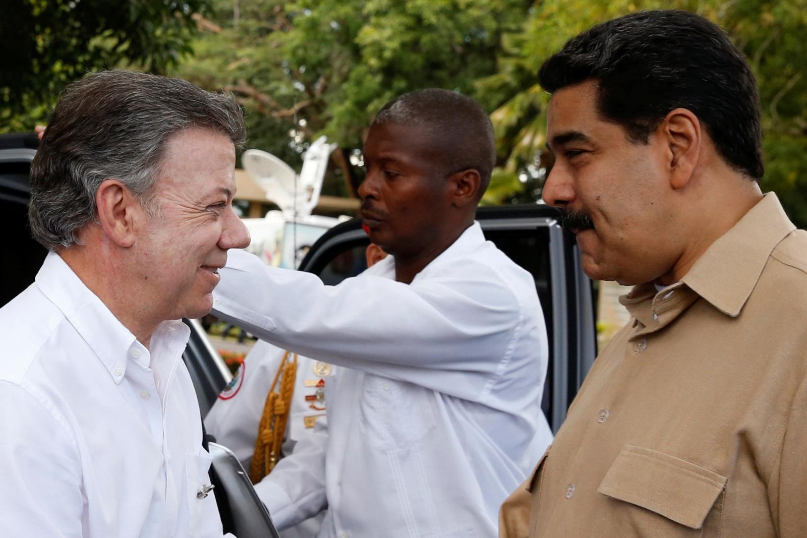 Juan Santos Nicolas Maduro