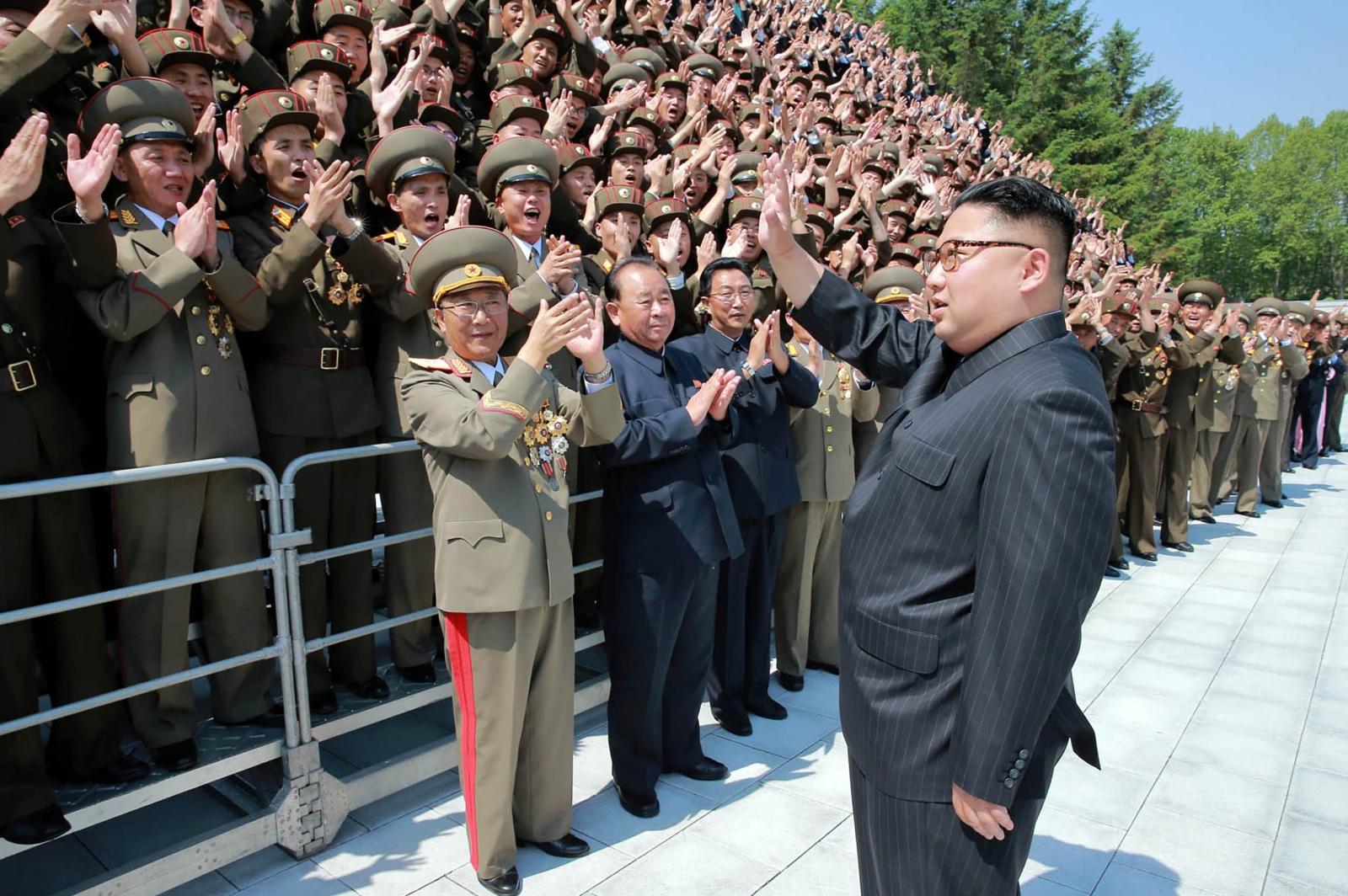 North Korea missile developers
