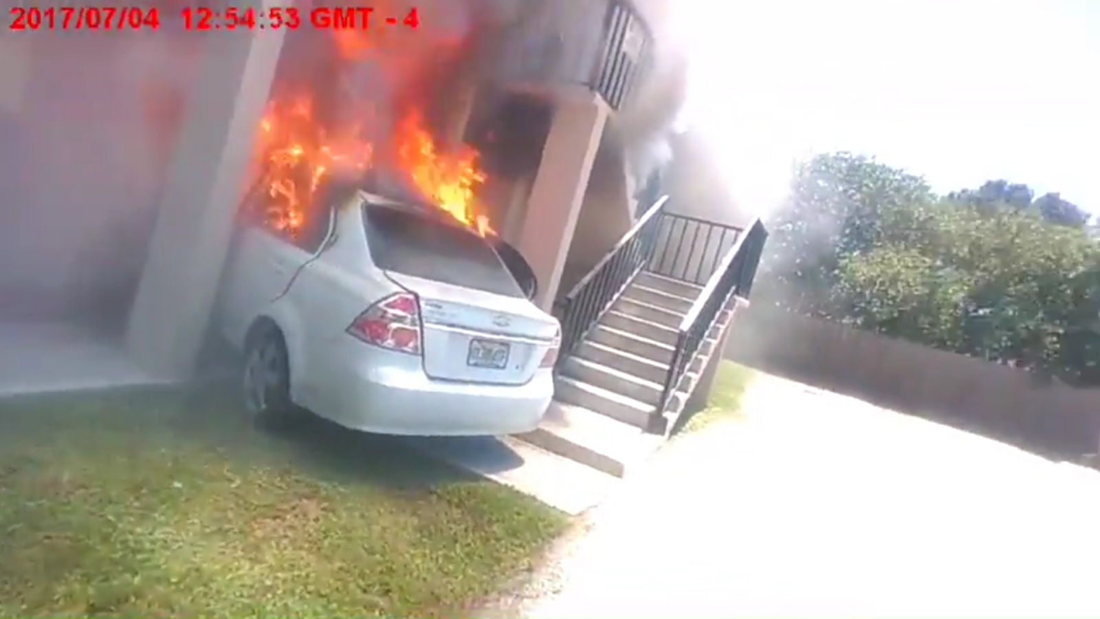 Man Dies After Crashing Propane-Loaded Car Into Ex-Girlfriend's Home