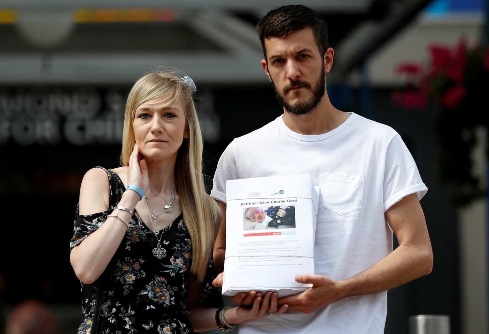 Charlie Gard parents