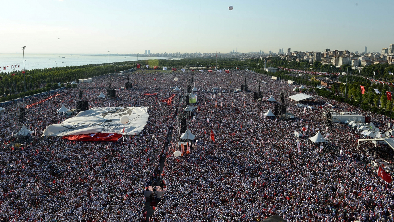 Turkey braces for grand finale of daring 'Justice March'