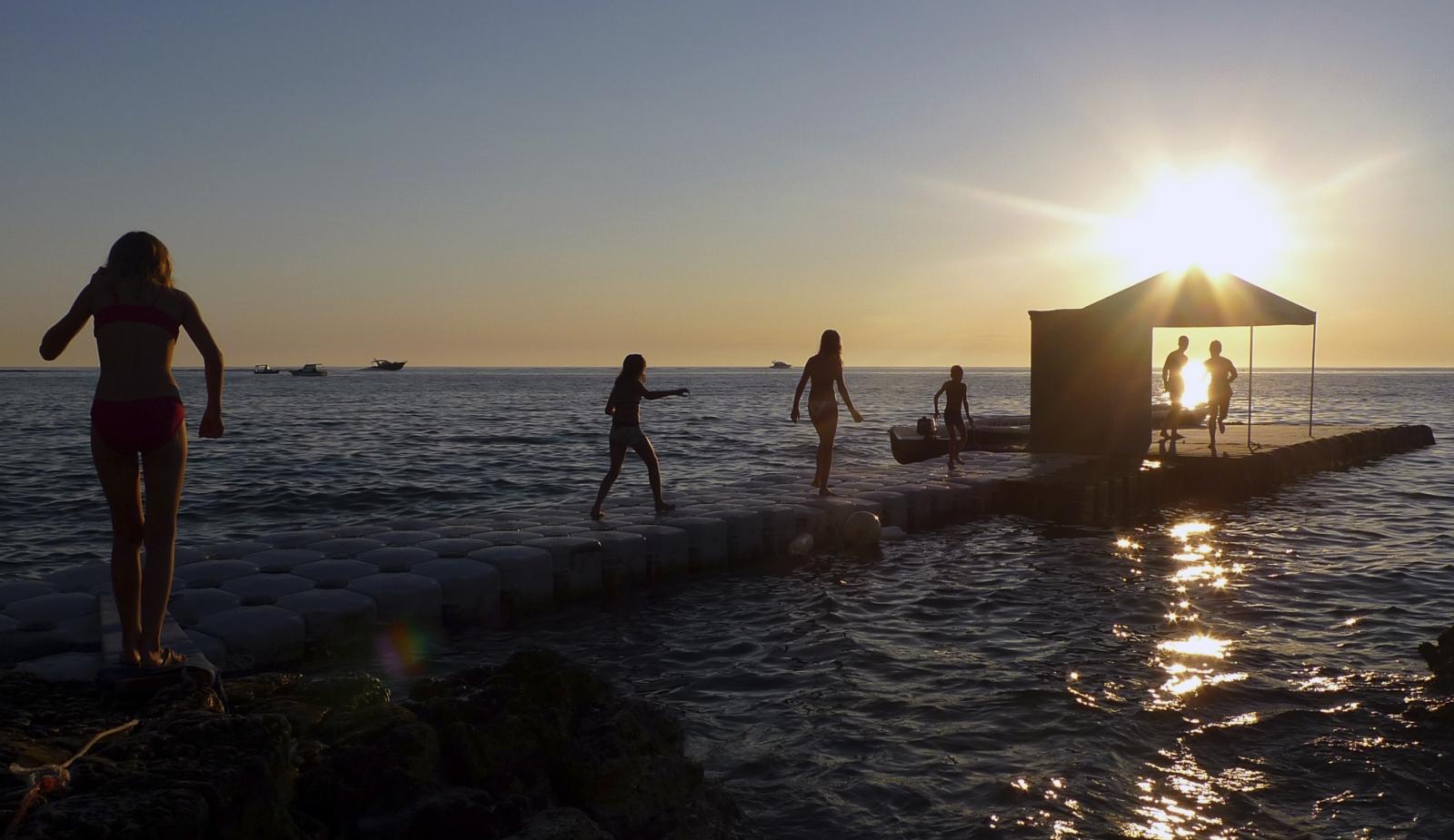 Italy sea beach
