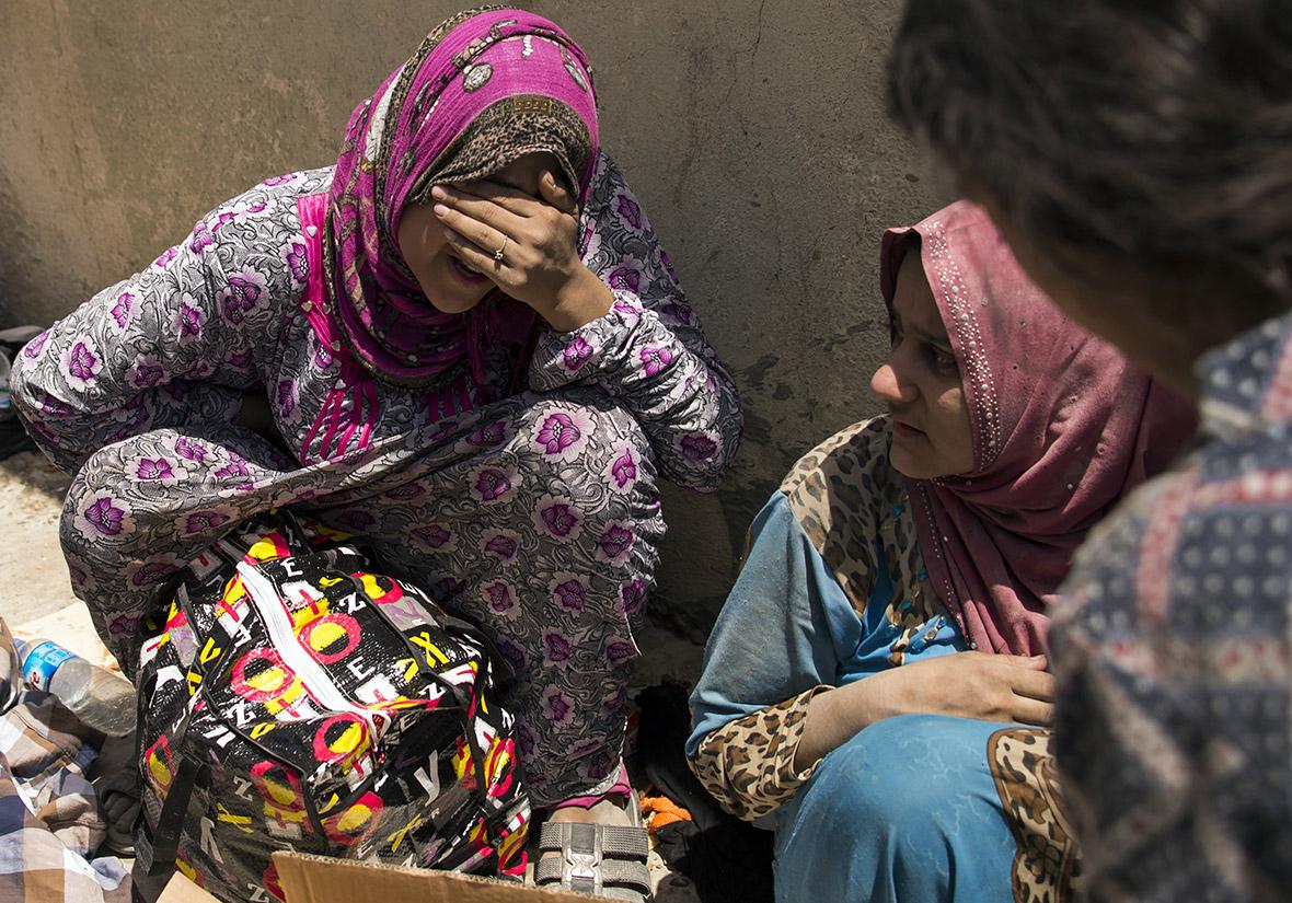 Yazidi People Yazidi women freed fro...