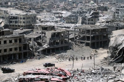 Mosul Old City destroyed