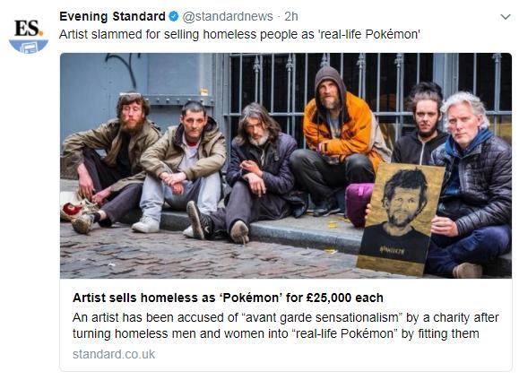 Hornsleth Pokemon homeless